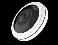 12MP H.265+ Fisheye Network Camera (كاميرات مراقبة)